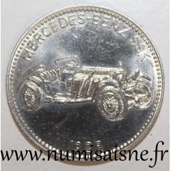 GERMANY - MEDAL - MERCEDES BENZ SSK - 1928