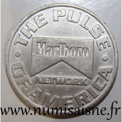 UNITED STATES - TOKEN - MARLBORO - THE PULSE OF AMERICA - 1 FREE DRINK