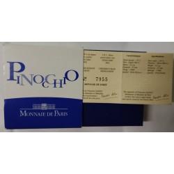 FRANCE - KM 1842 - CHILDREN'S TALES - PINOCCHIO - 1 ½ EURO 2002 - SECOND HAND