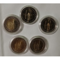 GERMANY - 2 EURO 2006 - Mintmark A D F G J - HOLSTENTOR OF LUBECK - SCHLESWIG-HOLSTEIN