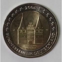 GERMANY - 2 EURO 2006 - A - Berlin - HOLSTENTOR OF LUBECK - SCHLESWIG-HOLSTEIN