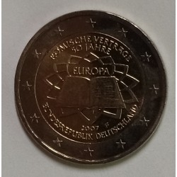 GERMANY - 2 EURO 2007 - Mintmark F - Stuttgart - TREATY OF ROME