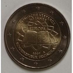 GERMANY - 2 EURO 2007 - Mintmark A - Berlin - TREATY OF ROME