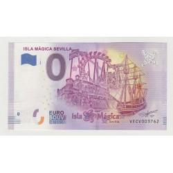 SPAIN - TOURISTIC 0 EURO SOUVENIR NOTE - ISLA MÁGICA SEVILLA - 2020