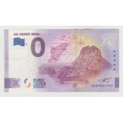 SPAIN - TOURISTIC 0 EURO SOUVENIR NOTE - IBIZA - 2020