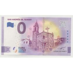 SPAIN - TOURISTIC 0 EURO SOUVENIR NOTE - SAN ANDRÉS DE TEIXIDO - 2020