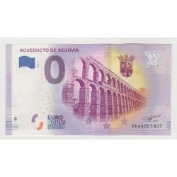 SPAIN - TOURISTIC 0 EURO SOUVENIR NOTE - SEGOVIA AQUEDUCT - 2020