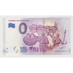 SPAIN - TOURISTIC 0 EURO SOUVENIR NOTE - CAMINO DE SANTIAGO - THE WAY OF ST JAMES - 2019