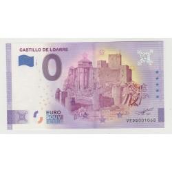 SPAIN - TOURISTIC 0 EURO SOUVENIR NOTE - CASTILLO DE LOARRE - 2021
