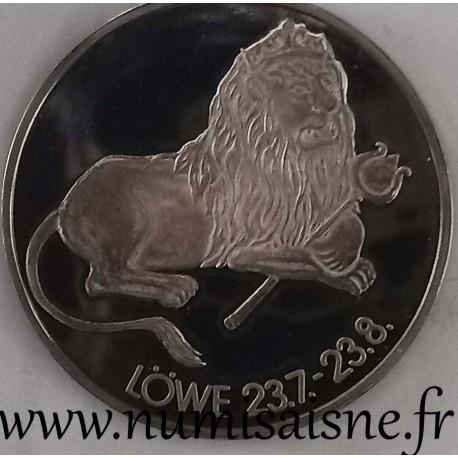 GERMANY - MEDAL - ASTROLOGICAL SIGN - LION