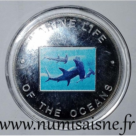 UGANDA - KM 107 - 1,000 SHILLING 2002 - Hammerhead sharks