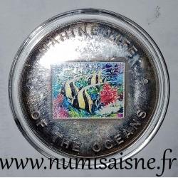 UGANDA - KM 115 - 1,000 SHILLING 2002 - Zanclus cornutus