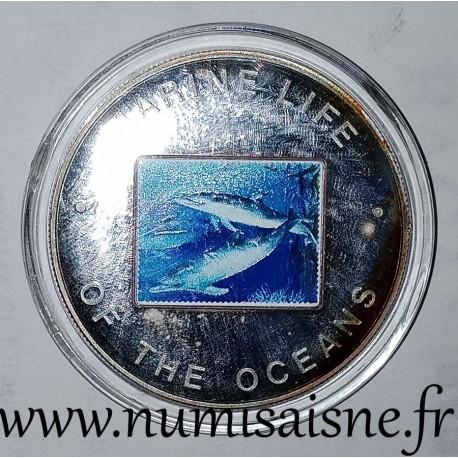 UGANDA - KM 111 - 1,000 SHILLING 2002 - Dolphins