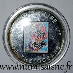 UGANDA - KM 114 - 1,000 SHILLING 2002 - Black Fish