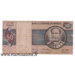 BRAZIL - PICK 194 b - 50 CRUZEIROS - (1974)
