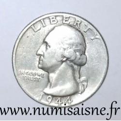 UNITED STATES - KM 164 - 1/4 DOLLAR 1944 S - San Francisco - GEORGE WASHINGTON
