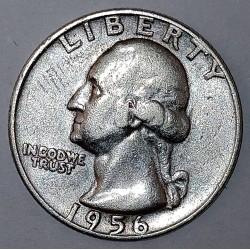 UNITED STATES - KM 164 - 1/4 DOLLAR 1956 D - Denver - GEORGE WASHINGTON
