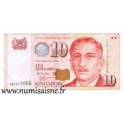 SINGAPORE - PICK 40 - 10 DOLLARS - NO DATE (1999)