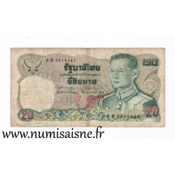 THAILAND - PICK 88 - 20 BAHT - 1981 - SIGN 60