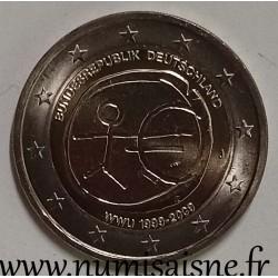 GERMANY - 2 EURO 2009 J - Hamburg - 10 Years of Economic and Monetary Union - EMU