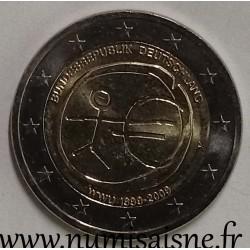 GERMANY - 2 EURO 2009 A - Berlin - 10 Years of Economic and Monetary Union - EMU