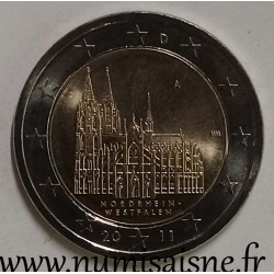 GERMANY - 2 EURO 2011 A - Berlin - WESTFALEN - Cologne Cathedral
