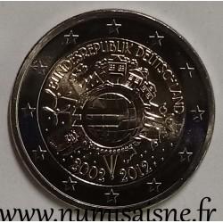 GERMANY - 2 EURO 2012 F - Stuttgart - 10 YEARS OF THE EURO