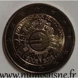 GERMANY - 2 EURO 2012 D - Munich - 10 YEARS OF THE EURO