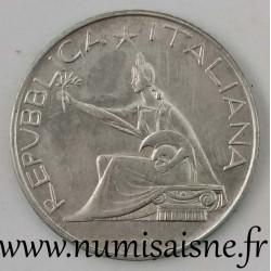 ITALIE - KM 99 - 500 LIRE 1961