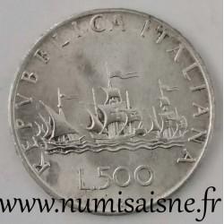ITALY - KM 98 - 500 LIRE 1966