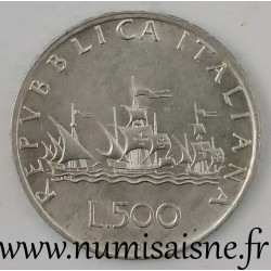 ITALIE - KM 98 - 500 LIRE 1959