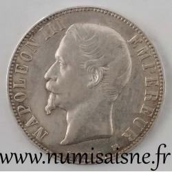 FRANCE - KM 782 - 5 FRANCS 1855 BB - Strasbourg - TYPE NAPOLEON III