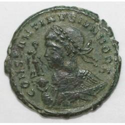 317 -340 - CONSTANTIN II - Petit BRONZE- R/ BEATA TRANQVILITAS