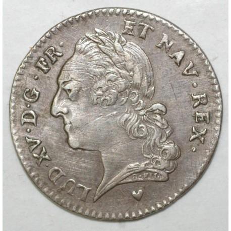 FRANCE - Gad 300 - 1/5 ECU WITH OLD HEAD - 1774 BB - Strasbourg