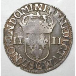 Dup 1230 - HENRI IV - QUART D'ECU - 1607