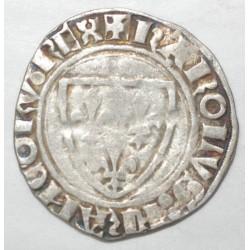 Dup 377 - CHARLES VI - BLANC GUENAR - 11 sept.1389 - PT ROMANS - TB