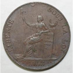 1774 - 1793 - 2 SOLS DE MONNERON 1791 - CONSTITUTION - TTB