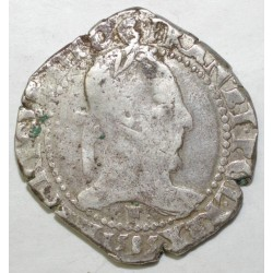 Dup 1130 - HENRI III - FRANC AU COL PLAT 1585 F