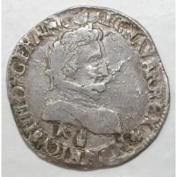 Dup 1212a - HENRI IV - DEMI FRANC - DATE EFFACE ...9 K