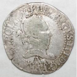Dup 1131 - HENRI III - DEMI FRANC 1589 A