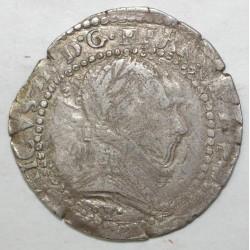 Dup 1131 - HENRI III - DEMI FRANC AU COL PLAT 1578 I