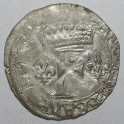 1515 - 1547 - FRANCOIS Ier - DIZAIN OU BLANC FRANCISCUS 1er TYPE - LA ROCHELLE