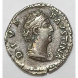 145 - 161 - FAVSTINE - EPOUSE D'ANTONIN LE PIEUX - DENIER - R /CERES - TTB