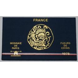 COFFRET FLEUR DE COIN 1978 SANS AILES - TRANCHE B