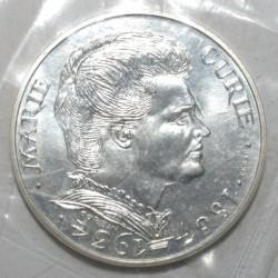 GADOURY 899 - 100 FRANCS 1984 - MARIE CURIE - ESSAI - FLEUR DE COIN