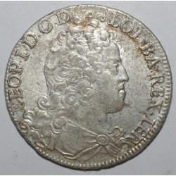 LORRAINE - LEOPOLD 1er - 1697 - 1729 - TESTON DE NANCY - 1711 - TTB/SUP