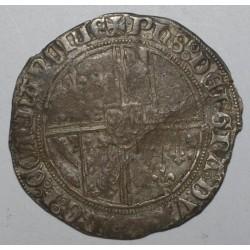 HAINAUT - PHILIPPE III LE BON - 1433-1467 - DOUBLE GROS DIT VIERLANDER - TB/TTB