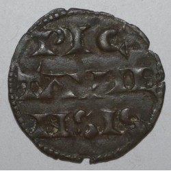 POITOU - RICHARD COEUR DE LION - 1172 - 1199 - DENIER - TTB+