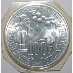 GADOURY 900 - 100 FRANCS 1985 - EMILE ZOLA - FLEUR DE COIN