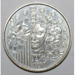 LA MONNAIE PARITE - EUROPA 1999 - 6.55957 FRANCS - BRILLANT UNIVERSEL